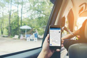 Nyomkövetés funkció okostelefonról